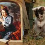 Любовь к котам и живописи обязательна