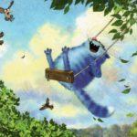 Забавные синие котики