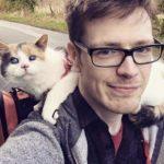 Слепая кошка, покорившая самую высокую гору в Ирландии